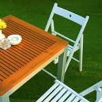 Typy zahradního nábytku